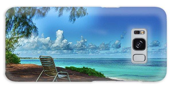 Tropical View Galaxy Case