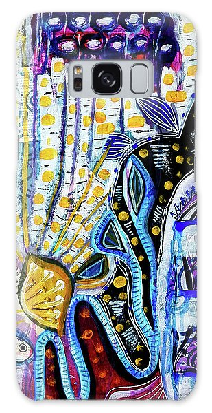 Tropical Waters Galaxy Case