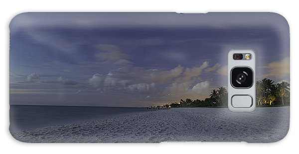 Tropical Winter Galaxy Case by Christopher L Thomley
