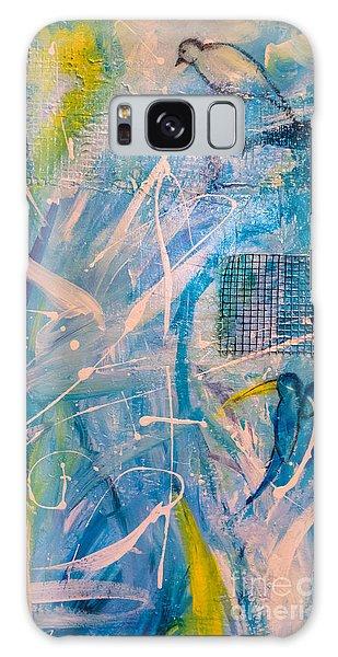 Tropicana Bird 02 Galaxy Case by Gallery Messina