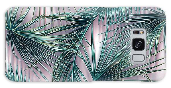 Leaf Galaxy Case - Tropicana  by Mark Ashkenazi