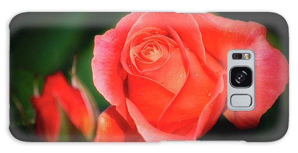 Tropicana Rose Galaxy Case by Albert Seger