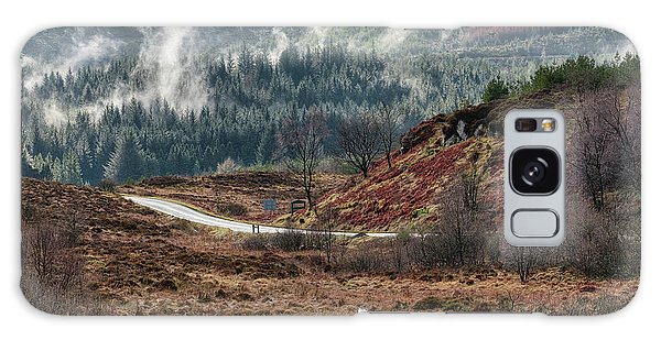 Galaxy Case featuring the photograph Trossachs National Park In Scotland by Jeremy Lavender Photography