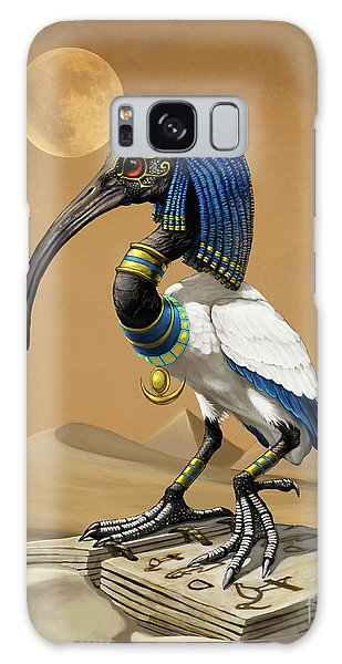 Thoth Egyptian God Galaxy Case