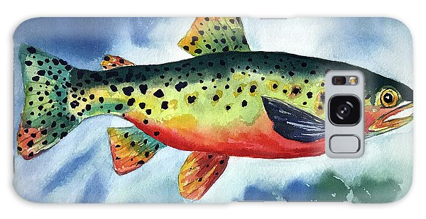 Trout Galaxy Case
