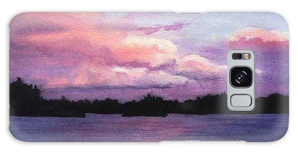 Trout Lake Sunset I Galaxy Case