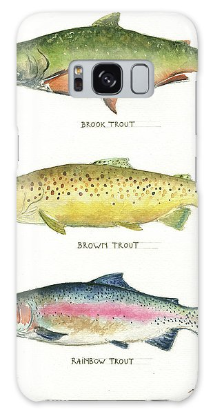 Trout Species Galaxy Case