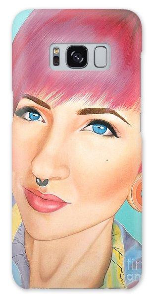 True Beauty - Jerica Wentzell Galaxy Case by Malinda Prudhomme