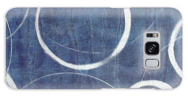 True Blue Ensos Galaxy Case by Julie Niemela