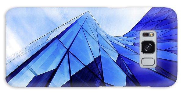 True Blue Galaxy Case by Stefan Nielsen