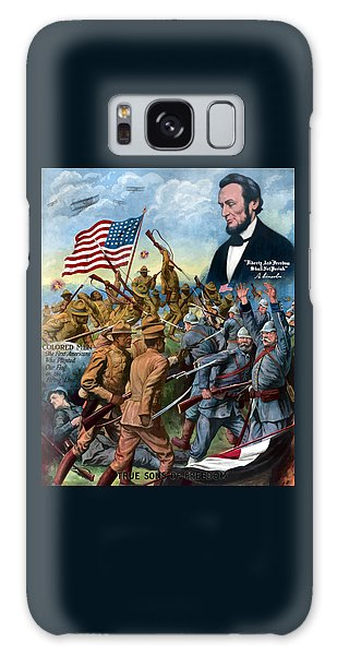 Abraham Lincoln Galaxy S8 Case - True Sons Of Freedom -- Ww1 Propaganda by War Is Hell Store