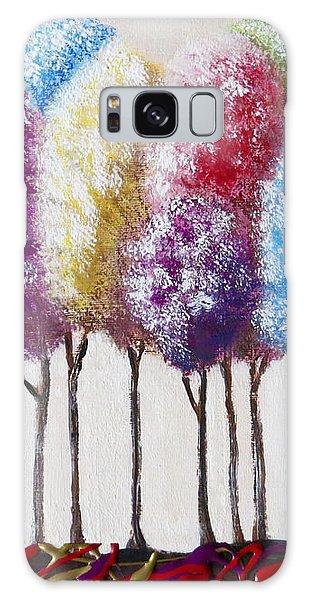 Truffula Forest Galaxy Case by Teresa Wing