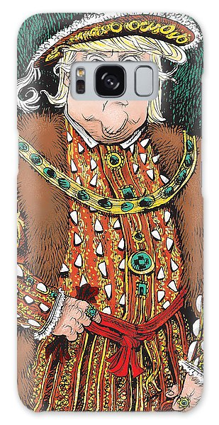 Trump As King Henry Viii Galaxy Case