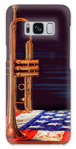 Trumpet-close Up Galaxy Case by Tim Bryan