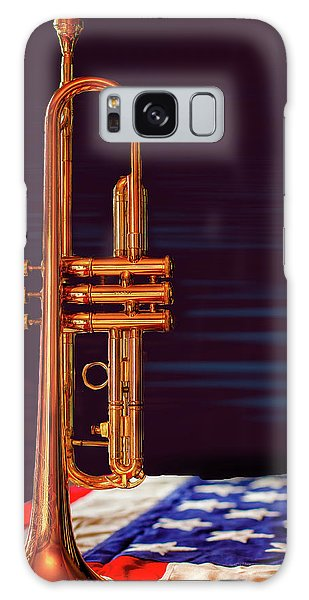 Trumpet-close Up Galaxy Case