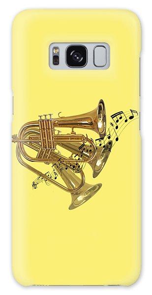 Trumpet Fanfare Galaxy Case