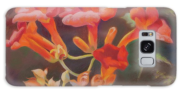 Trumpet Flowers Galaxy Case