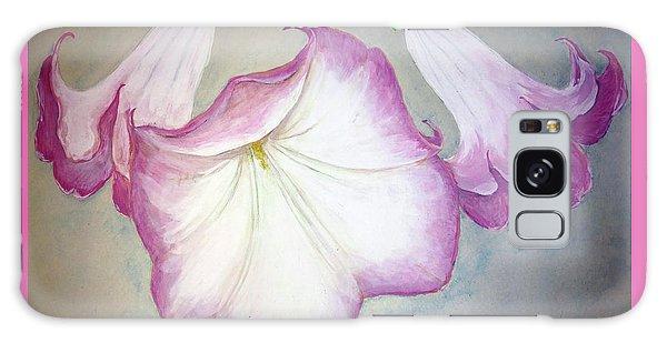 Trumpet Lilies Galaxy Case