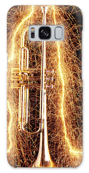 Trumpet Outlined With Sparks Galaxy S8 Case