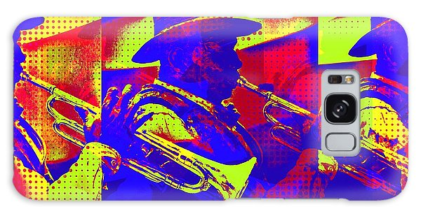 Trumpet Player Pop-art Galaxy Case