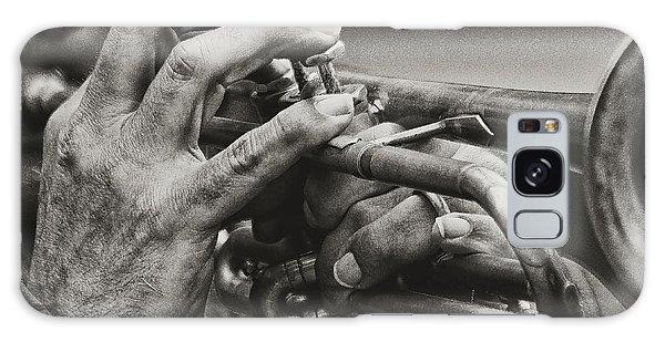 Trumpet Solo Galaxy Case by Pedro L Gili