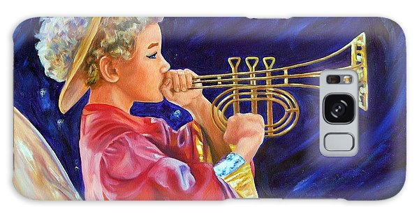 Galaxy Case - Trumpeting Angel by Anne Kushnick