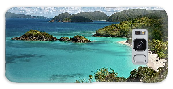 Trunk Bay Overlook Galaxy Case by Harry Spitz