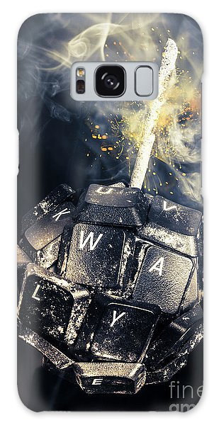 Technology Galaxy Case - Truth Bombs by Jorgo Photography - Wall Art Gallery