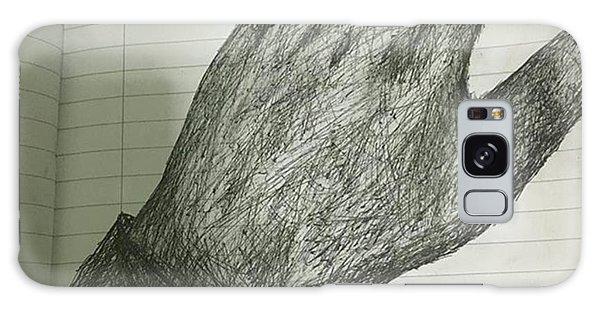 Superhero Galaxy Case - Trying Pen by Adamantine Wolverine