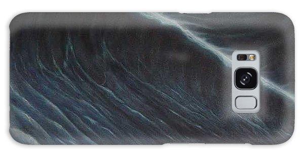 Tsunami Galaxy Case by Angel Ortiz