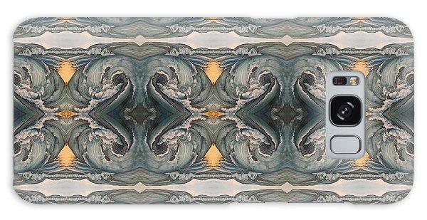 Tsunami Mirror Pattern Galaxy Case