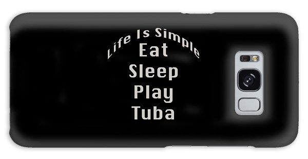 Tuba Eat Sleep Play Tuba 5519.02 Galaxy Case