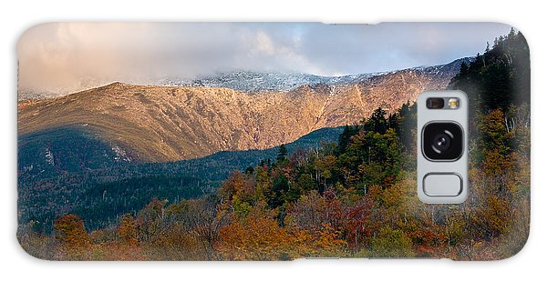 Tuckermans Ravine In Autumn Galaxy Case by Susan Cole Kelly