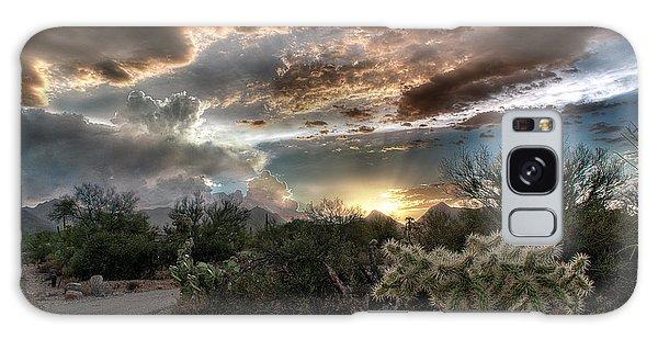 Tucson Mountain Sunset Galaxy Case