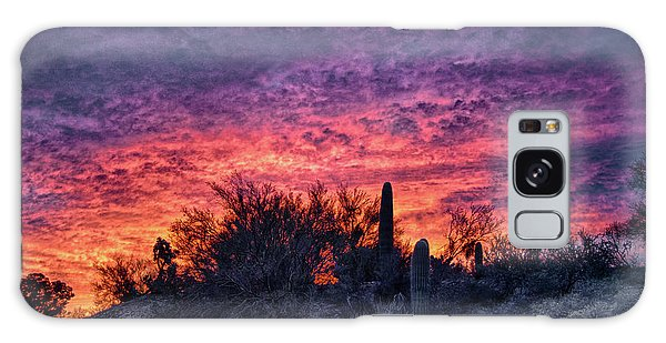 Tucson Sunrise Galaxy Case