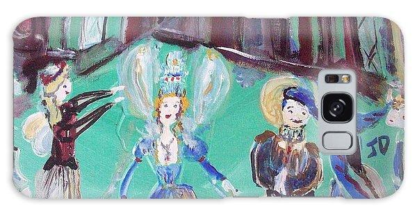 Tudor Fairies Galaxy Case by Judith Desrosiers