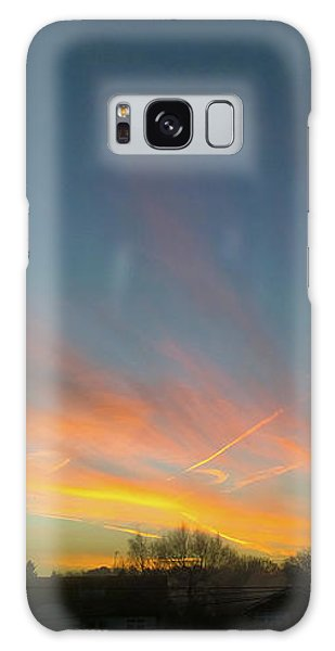 Galaxy Case featuring the photograph Tuesday Sunrise by Anne Kotan