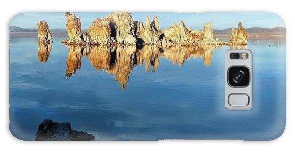 Tufa Reflection At Mono Lake Galaxy Case