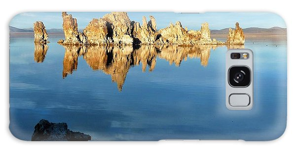 Tufa Reflection At Mono Lake Galaxy Case