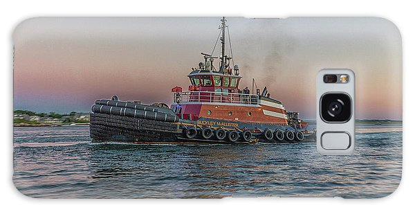 Tugboat Buckley Mcallister At Sunset Galaxy Case