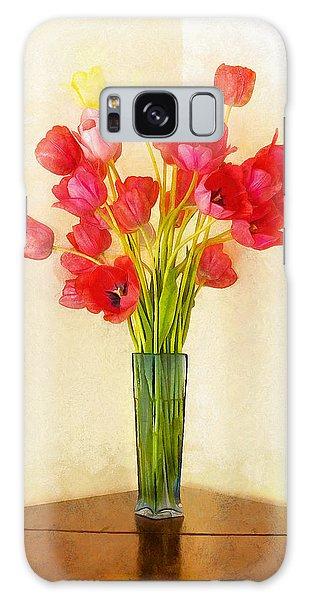 Tulip Bouquet Galaxy Case