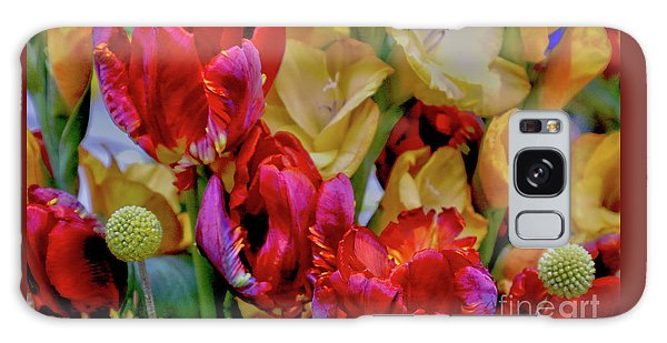 Tulip Bouquet Galaxy Case by Sandy Moulder