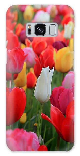 Tulip Color Mix Galaxy Case