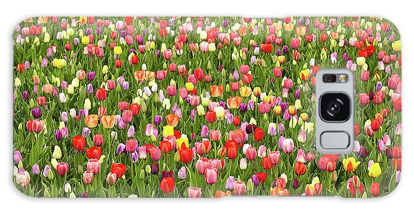 Tulip Field Galaxy Case