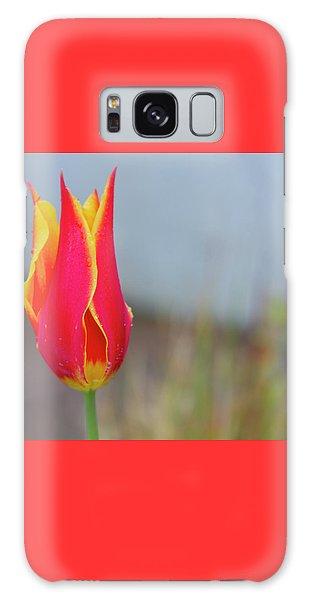 Tulip Fire Galaxy Case