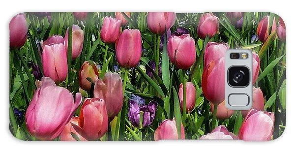 Tulip Flowers  Galaxy Case