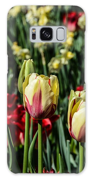Tulip Garden Galaxy Case