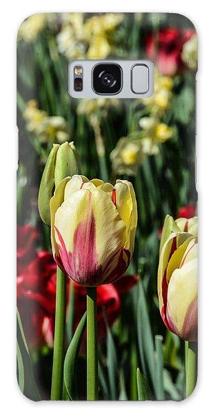 Tulip Garden Galaxy Case
