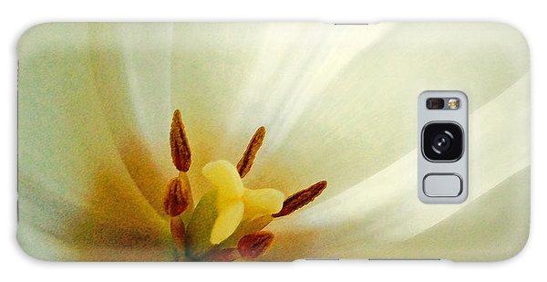 Tulip Glow Galaxy Case by Gwyn Newcombe