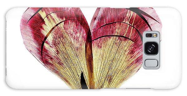 Tulips Galaxy Case - Tulip Heart by Nailia Schwarz